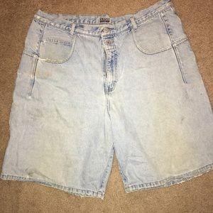 Men's Vintage Guess Jean Shorts Sz 38